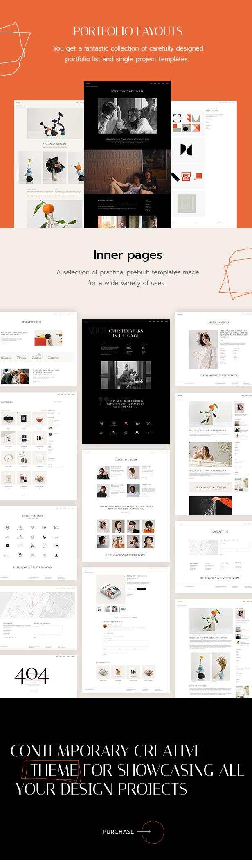 Oráiste - Creative Portfolio WordPress Theme - 3